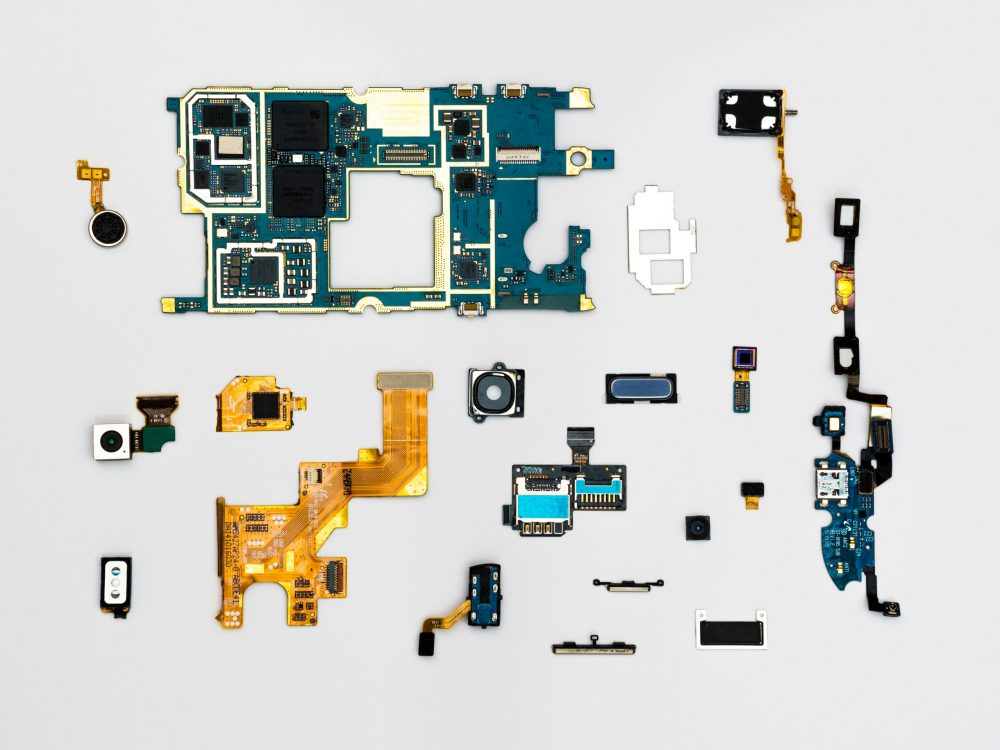 Electronic Repair Laid Out
